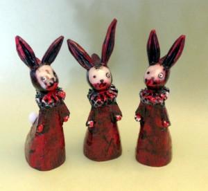 Zombie poppet bunnies