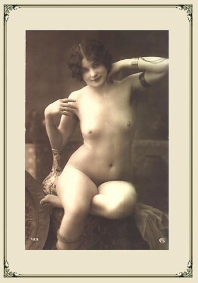 Vintage pornography fascinates me, be it literature or photographic, ...