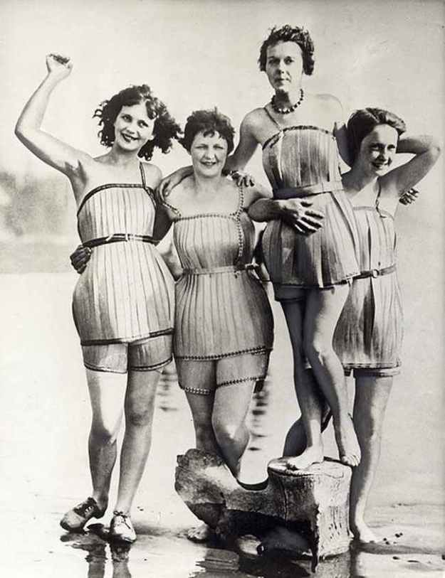 Traje De Baño Antiguo Mujer:Weird inventions from the past