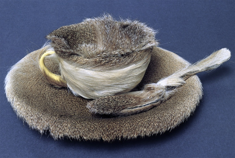 Meret Oppenheim's 'furry cup'