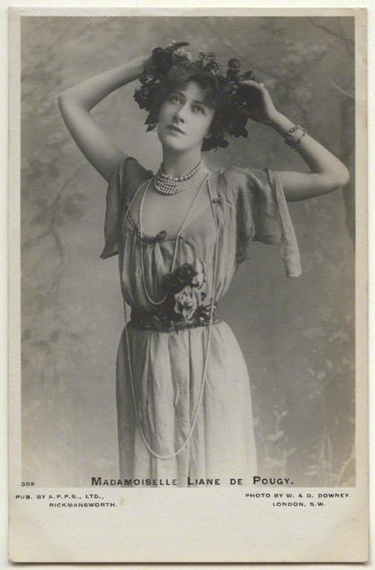 Postcard print, 1900s